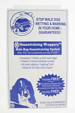 NWT Housetraining Wrappers Male Dog Housetraining System - 6 Inch Wrappers