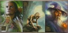 LORD OF THE RINGS MASTERPIECES TOPPS 2006 COMPLETE 90  BASE CARD SET + PACK WRAP