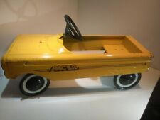 Vintage AMF Pacer Pedal Car - Yellow