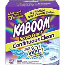 Kaboom Scrub Free! Continuous Clean Toilet Cleaning 1Ct System