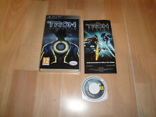 TRON EVOLUTION DE SUPERVILLAIN STUDIOS - DISNEY PARA LA SONY PSP EN BUEN ESTADO
