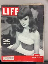 Life Magazine January 28, 1952 Phyllis Newell Dutch Forces Way Into Church