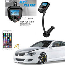 Mp3 Player Auto Car Kit Bluetooth Wireless Fm Transmitter Adapter Sd Usb Charge