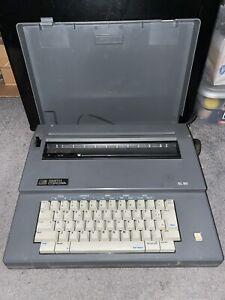 Smith Corona Electric Typewriter SL80 5A Daisy Wheel Word Erase Portable W/Cover