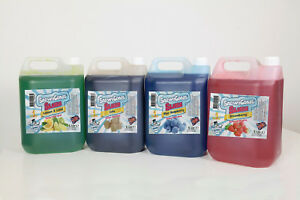SLUSH SYRUP, 1 X 5Ltr Just Like SLUSH PUPPIE  PICK YOUR OWN FLAVOURS 7 - 1 MIX