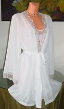 NWT Lejaby for Neiman Marcus Bridal Babydoll Robe Set, sz L
