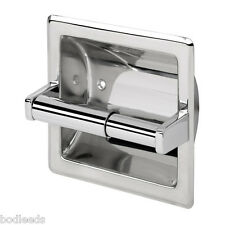 Recessed Toilet Roll Holder Stainless Steel