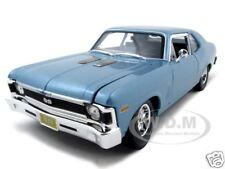 1970 CHEVROLET NOVA SS COUPE BLUE 1:18 DIECAST MODEL CAR BY MAISTO  31132