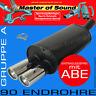 MASTER OF SOUND SPORTAUSPUFF FIAT 500 C CABRIO 1.2L 1.3L JTD 1.4L 16V