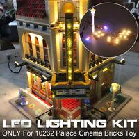 Für lego 10232 Led-Licht Set Palast Kino Kreator Expert Beleuchtung Steine Set