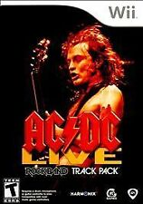 AC/DC Live: Rock Band Track Pack - Nintendo Wii NEW BUT MISSING SHRINKWRAP