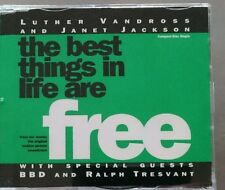 "LUTHER VANDROSS/JANET JACKSON ""The Best Things In Life Are Free"" 3-Trck-MCD 1992"