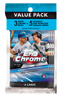 2020 Topps Chrome Value Cello Pack [Same-Day Free Shipping]