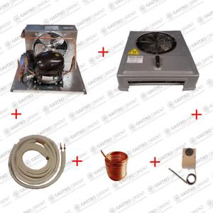 KÜHLHAUS Komplett-Set bis 1,5m x 2,0mx2,0m (6m³) Kühlzelle Lager - Kältetechnik