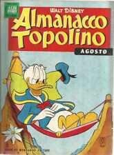 ALMANACCO TOPOLINO 1963 NUMERO 8 CON BOLLINO