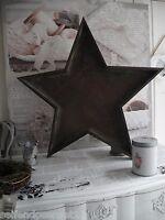 No1 28cm Stern Tablett Schale Weihnachten Gesteck Holz shabby chic French