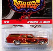 2011 Hot Wheels WAYNE'S GARAGE #21 * '70 CHEVELLE SS WAGON * RED CHASE