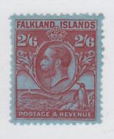 FALKLAND ISLANDS 61 MINT HINGE REMNANT OG * NO FAULTS VERY FINE !