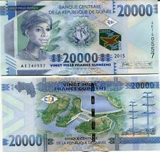 Guinea - 20,000 Francs - UNC currency note - 2015 issue