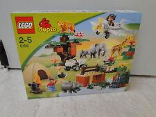 LEGO DUPLO 6156 FOTO SAFARI SET COMPLETO SCATOLA ORIGINALE SIGILLATA ZOO SAVANA