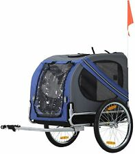 Bike Pet Trailer For Small and Large Dog with with 3 Entrances Freeship HighQua