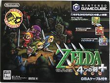 The Legend of Zelda Four Sword Adventure - Gamecube - Coffret complet NTSC-J JAP