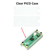 Dual-Side Protection Clear Acrylic Panel Case With Key Cap for Raspberry Pi Pico