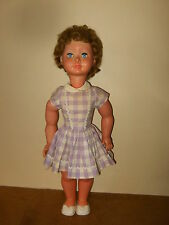 Ancienne poupée / vintage doll - RATTI (Made in Italy) - 65cm - yeux dormeurs