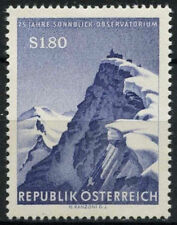 Austria 1961 Sg # 1369 Sonnblick observatorio meteorológico Mnh #a 93523