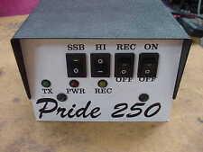 Pride 250 Ham radio linear RF amplifier