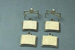Hope Mini (2 Pot), 2 Paar (f VR+HR) Semi Metal Bremsbeläge semimetal
