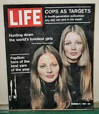 Vintage Life Magazine November 13, 1970 Eileen Ford's Models on Cover
