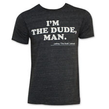 9b7aa059d95 Ripple Junction Big Lebowski I m The Dude Man Adult T-shirt XL Heather