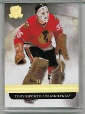 11/12 Upper Deck The Cup Tony Esposito Gold Base #'ed 05/25