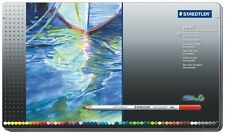 STAEDTLER KARAT Matite Colorate Acquerellabili 60 Colori Scatola in Metallo