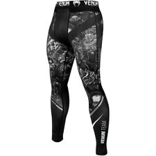 Venum Art Compression Spats - Black/White