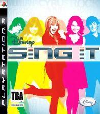 Disney Sing It: Pop Hits (PS3) VideoGames