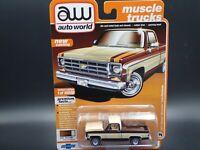 AUTO WORLD 1977 CHEVY CHEYENNE C10 FLEETSIDE  MUSCLE TRUCKS  REL 2 VERSION A