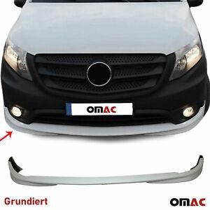 Für Mercedes Vito W447 Stoßstange Front Spoiler Lipe Rammschutz Grundiert
