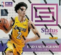 2017-18 Panini Status Basketball Sealed Hobby Box - 10 Packs - 1 Auto Per Box