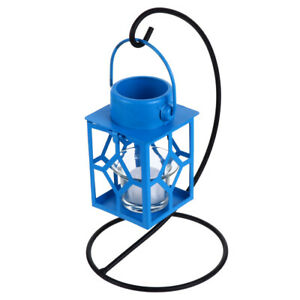 Hanging Metal Candle Stick Holder Candlestick Lantern Home Party Garden Decor