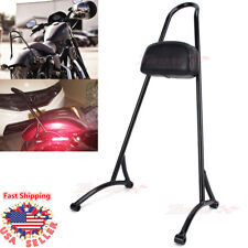 Sissy Bar Passenger Backrest Back Rest For Harley Sportster 883 1200 XL 04-16