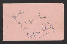 Pakistan cricket autographs of Javed Buki + Zafar Altaf + 1