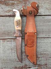 R.H. Ruana Knife - M Stamp - Bonner Montana - Made between 1962-1983