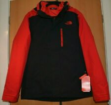 The North Face Carto Triclimate 3-in-1 Black /Red Dryvent Mountain Jacket M