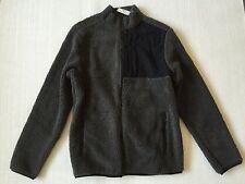 NWT AEROPOSTALE Mens brown fleece jacket M
