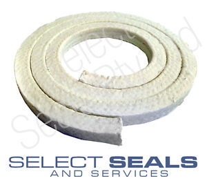 "Select Seals 3201 PTFE Pump & Valve Gland Gland Packing 12.7 mm 1/2"" 1 Meter"