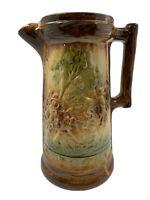 McCoy Brush Ware Pottery Kolorcraft Tankard Pitcher Vintage MINT Condition great