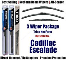 3pk Wipers Front & Rear - NeoForm - 1999-2000 Cadillac Escalade - 16180x2/30130