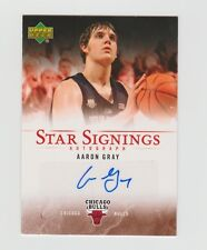 Aaron Gray Bulls 2007-2008 Upper Deck Star Signings Autograph #SS-AG